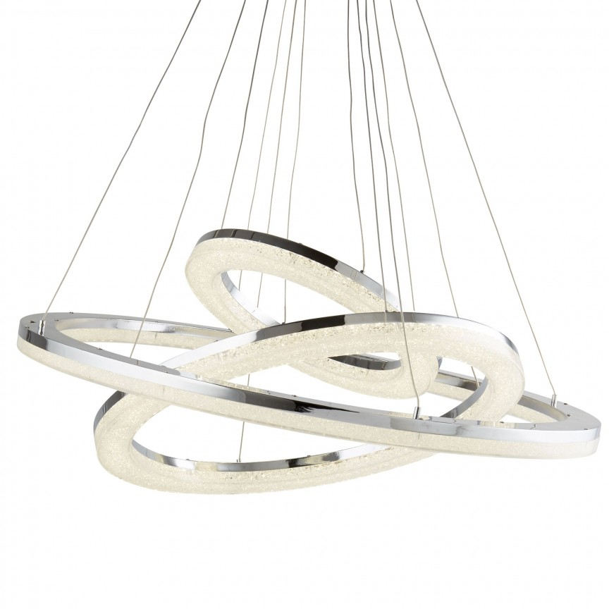Lustra LED moderna suspendata Circle 85W 9206-3CC SRT, Lustre LED, Pendule LED, Corpuri de iluminat, lustre, aplice, veioze, lampadare, plafoniere. Mobilier si decoratiuni, oglinzi, scaune, fotolii. Oferte speciale iluminat interior si exterior. Livram in toata tara.  a