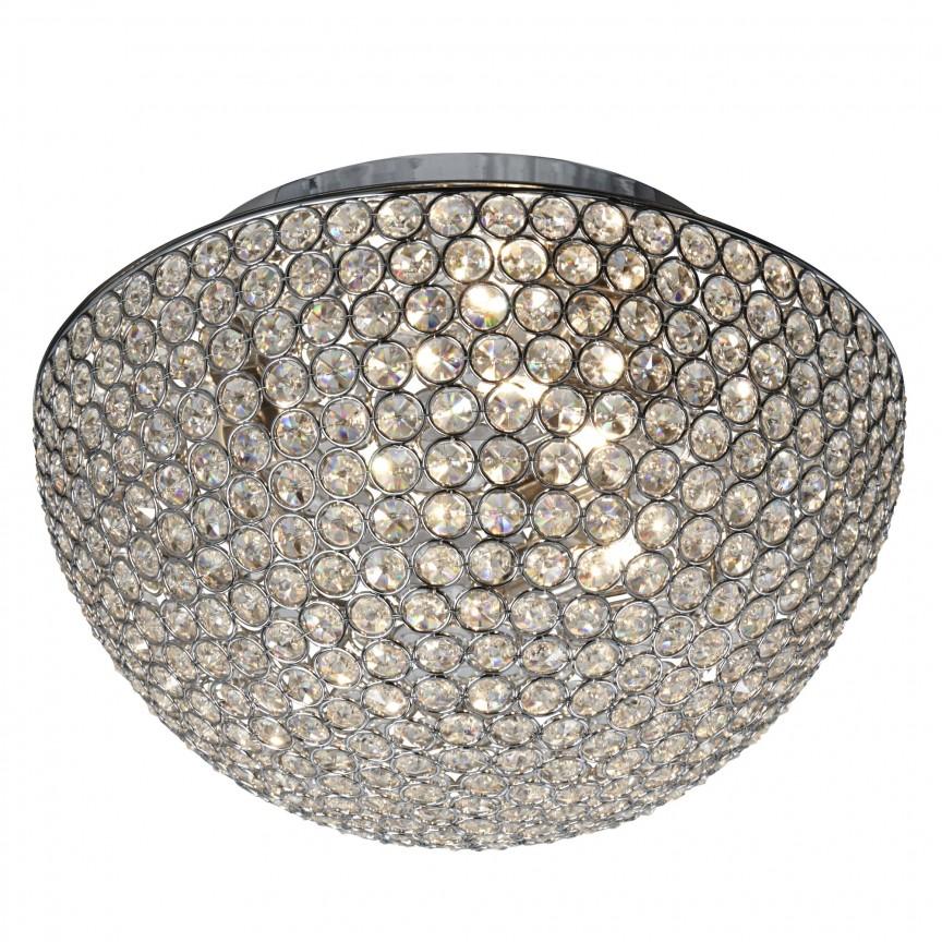 Plafoniera eleganta design modern Chantilly 3L 5163-35CC SRT, Plafoniere moderne, Corpuri de iluminat, lustre, aplice, veioze, lampadare, plafoniere. Mobilier si decoratiuni, oglinzi, scaune, fotolii. Oferte speciale iluminat interior si exterior. Livram in toata tara.  a