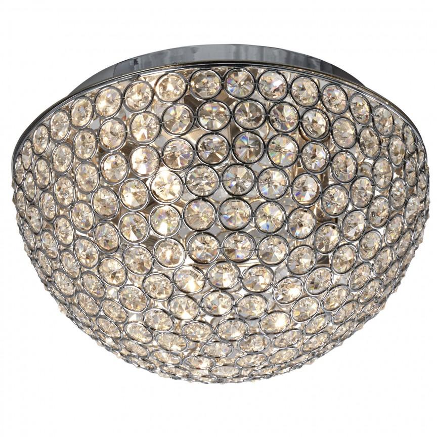 Plafoniera eleganta design modern Chantilly 3L 5162-25CC SRT, Plafoniere moderne, Corpuri de iluminat, lustre, aplice, veioze, lampadare, plafoniere. Mobilier si decoratiuni, oglinzi, scaune, fotolii. Oferte speciale iluminat interior si exterior. Livram in toata tara.  a