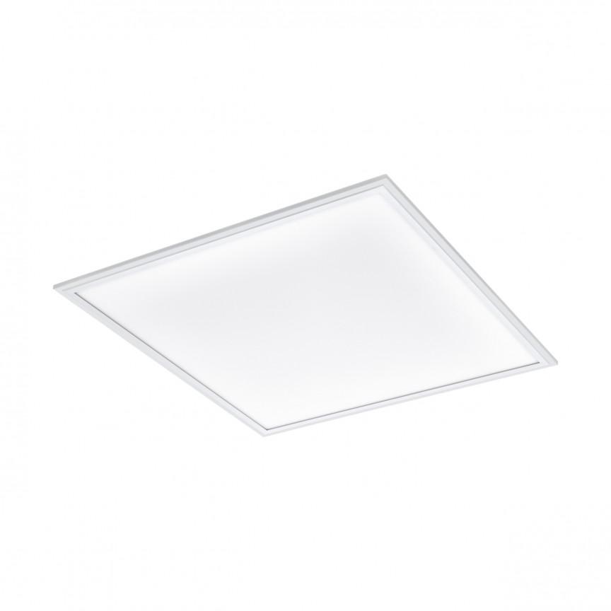 Plafoniera LED tip panou cu telecomanda SALOBRENA-A 98203 El, Plafoniere LED, Spoturi LED, Corpuri de iluminat, lustre, aplice, veioze, lampadare, plafoniere. Mobilier si decoratiuni, oglinzi, scaune, fotolii. Oferte speciale iluminat interior si exterior. Livram in toata tara.  a