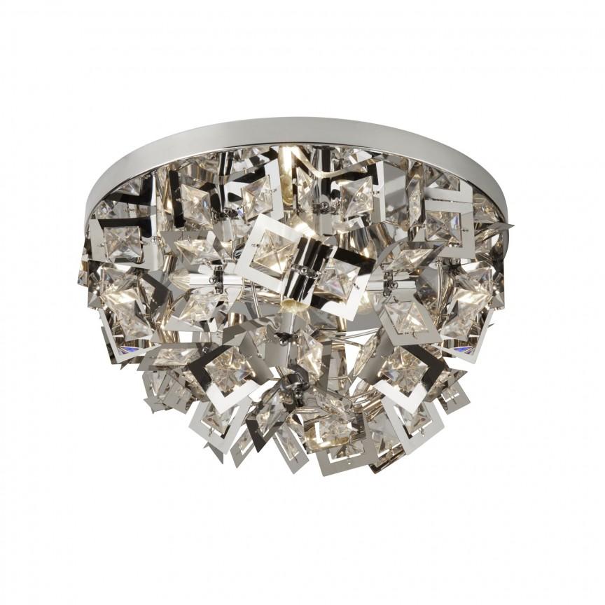Plafoniera moderna design elegant Nova 2624-4CC SRT, Plafoniere moderne, Corpuri de iluminat, lustre, aplice, veioze, lampadare, plafoniere. Mobilier si decoratiuni, oglinzi, scaune, fotolii. Oferte speciale iluminat interior si exterior. Livram in toata tara.  a