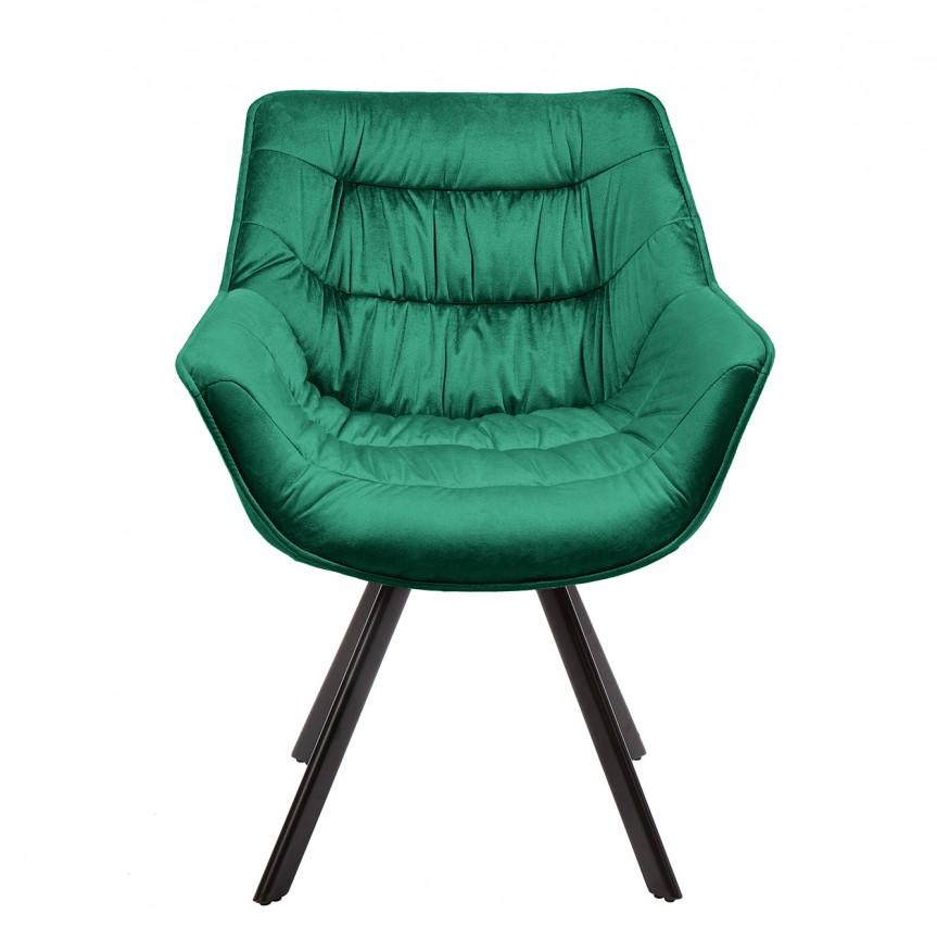 Set de 2 scaune design retro Dutch Comfort, catifea verde smarald A-39475 VC, Seturi scaune dining, scaune HoReCa, Corpuri de iluminat, lustre, aplice, veioze, lampadare, plafoniere. Mobilier si decoratiuni, oglinzi, scaune, fotolii. Oferte speciale iluminat interior si exterior. Livram in toata tara.  a
