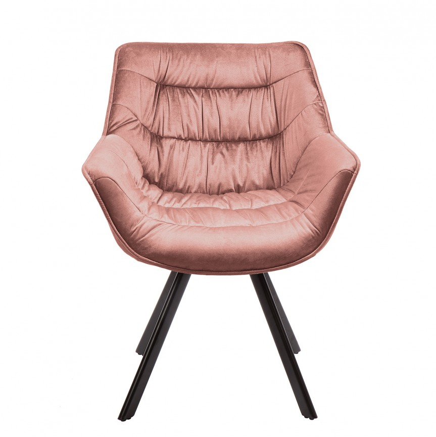 Set de 2 scaune design retro Dutch Comfort, catifea roz A-39476 VC, Seturi scaune dining, scaune HoReCa, Corpuri de iluminat, lustre, aplice, veioze, lampadare, plafoniere. Mobilier si decoratiuni, oglinzi, scaune, fotolii. Oferte speciale iluminat interior si exterior. Livram in toata tara.  a