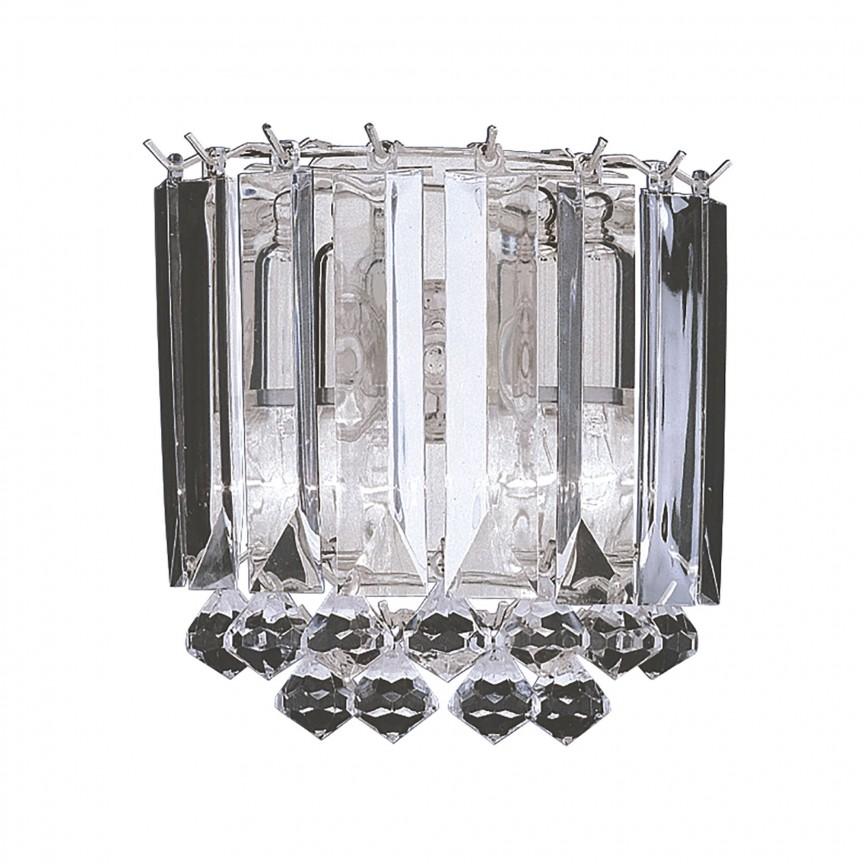 Aplica de perete moderna design elegant Sigma 6711-2CC SRT, CORPURI DE ILUMINAT INTERIOR MODERN, Corpuri de iluminat, lustre, aplice, veioze, lampadare, plafoniere. Mobilier si decoratiuni, oglinzi, scaune, fotolii. Oferte speciale iluminat interior si exterior. Livram in toata tara.  a
