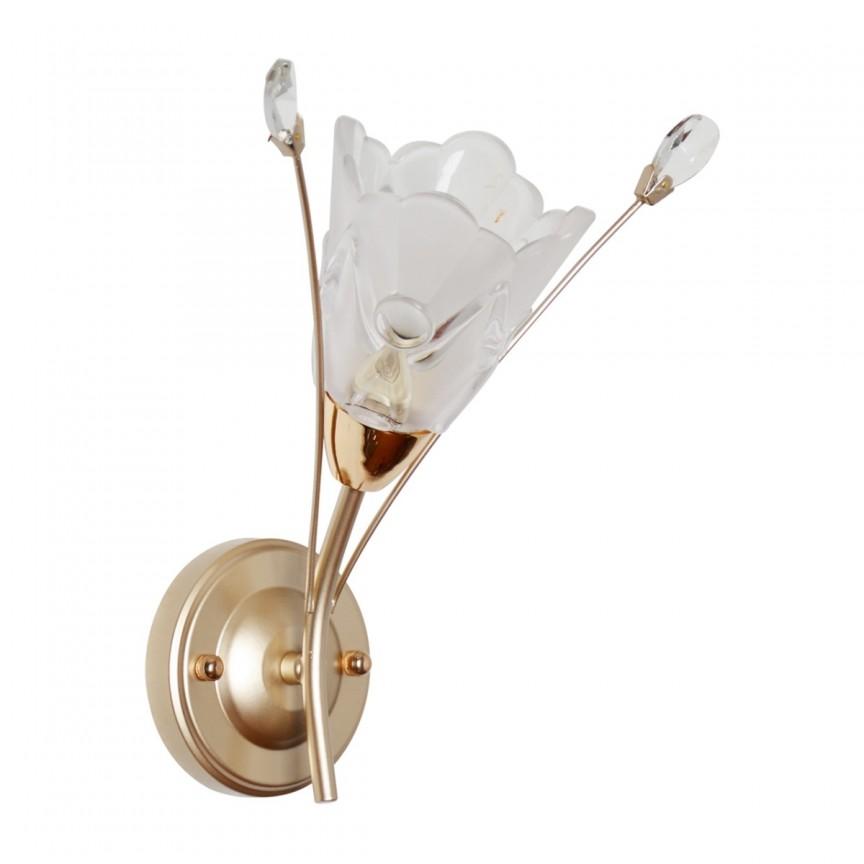 Aplica design floral Amelia 294026301 MW, Magazin, Corpuri de iluminat, lustre, aplice, veioze, lampadare, plafoniere. Mobilier si decoratiuni, oglinzi, scaune, fotolii. Oferte speciale iluminat interior si exterior. Livram in toata tara.  a