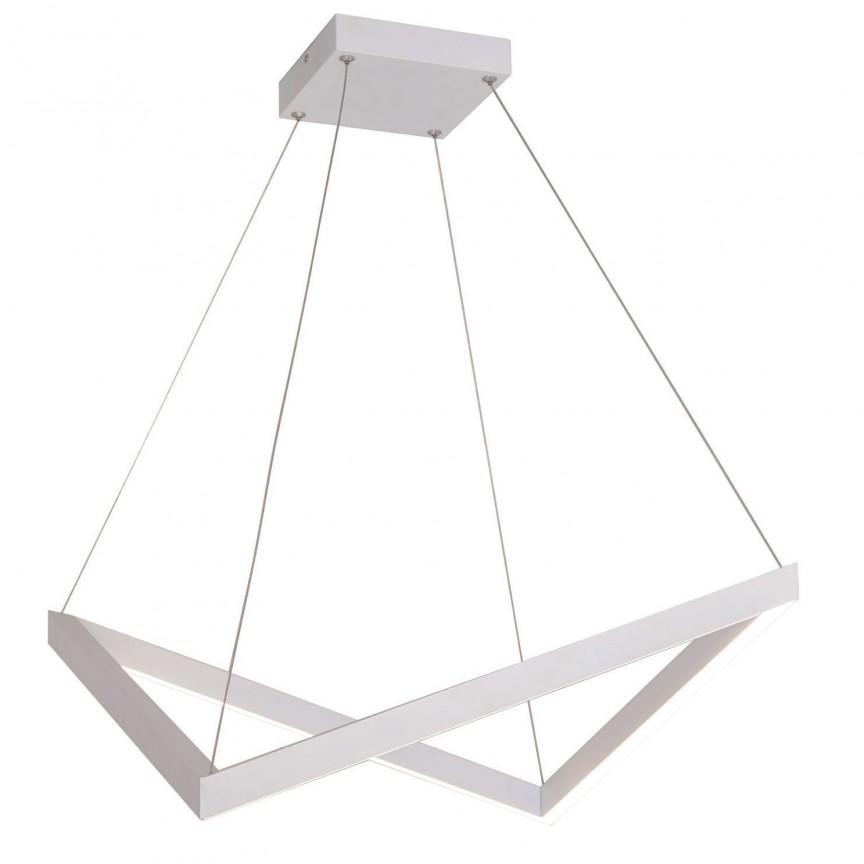 Lustra LED design modern Origami P0363 MX, Magazin, Corpuri de iluminat, lustre, aplice, veioze, lampadare, plafoniere. Mobilier si decoratiuni, oglinzi, scaune, fotolii. Oferte speciale iluminat interior si exterior. Livram in toata tara.  a
