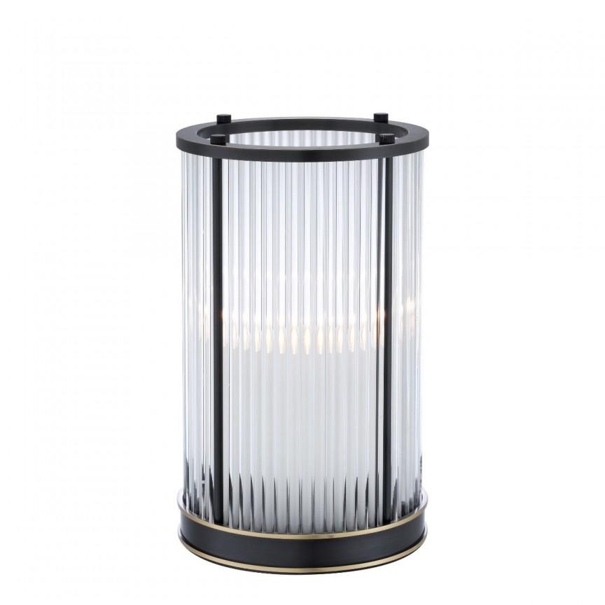 Suport lumanare design LUX Mayson S, bronz lucios 113757 HZ, Parfumuri de camera- Idei cadouri- Obiecte decorative,  a