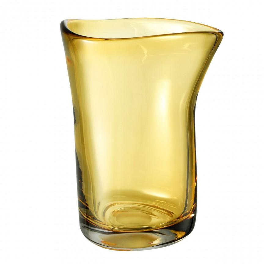 Vas din sticla galbena, design LUX Corum L 113663 HZ, Parfumuri de camera- Idei cadouri- Obiecte decorative,  a