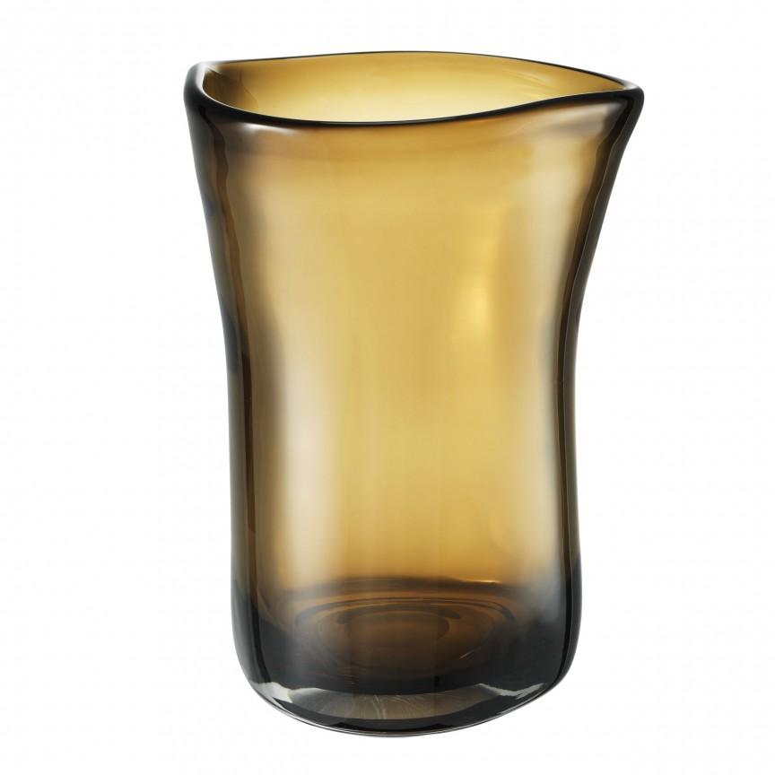 Vas din sticla maro, design LUX Corum L 113666 HZ, Parfumuri de camera- Idei cadouri- Obiecte decorative,  a