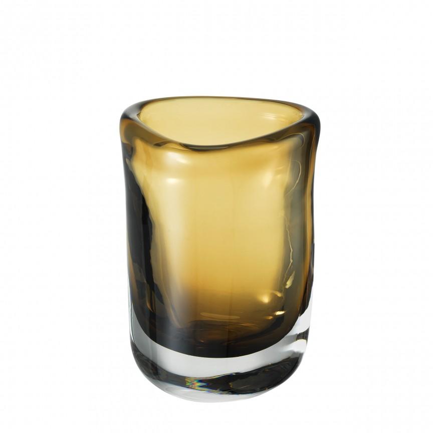 Vas din sticla maro, design LUX Corum S 113668 HZ, Parfumuri de camera- Idei cadouri- Obiecte decorative,  a