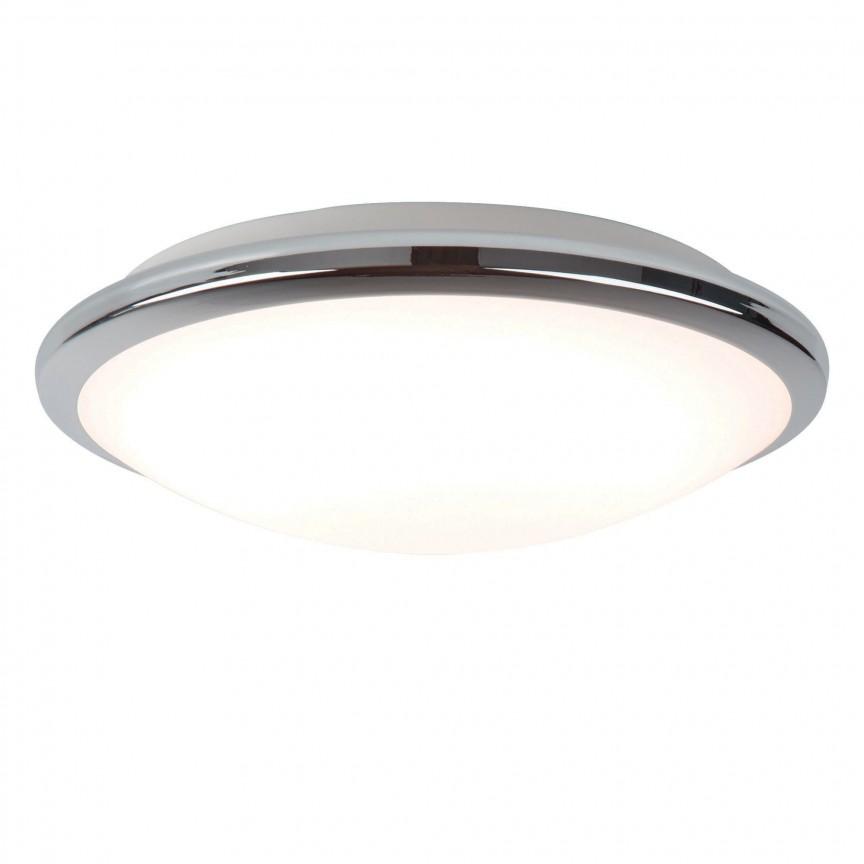 Aplica LED de perete / tavan pentru baie IP44 Bathroom 30cm 7938-30CC SRT, Plafoniere cu protectie pentru baie, Corpuri de iluminat, lustre, aplice, veioze, lampadare, plafoniere. Mobilier si decoratiuni, oglinzi, scaune, fotolii. Oferte speciale iluminat interior si exterior. Livram in toata tara.  a
