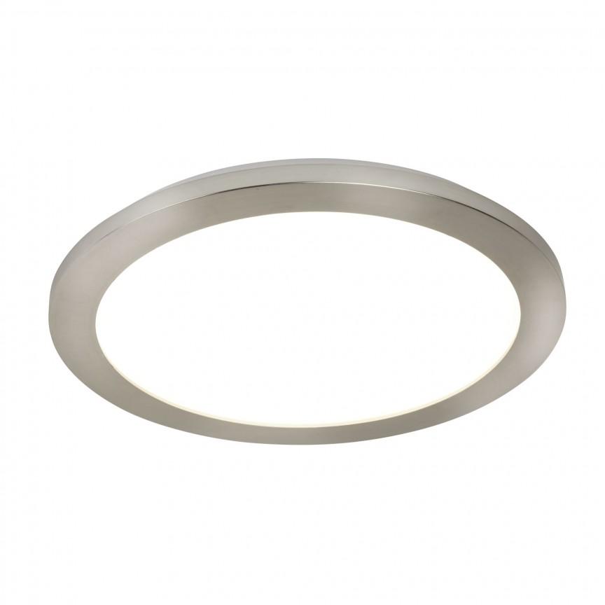 Aplica LED de perete / tavan pentru baie IP44 Flush 30cm 8101-30SS SRT, Plafoniere cu protectie pentru baie, Corpuri de iluminat, lustre, aplice, veioze, lampadare, plafoniere. Mobilier si decoratiuni, oglinzi, scaune, fotolii. Oferte speciale iluminat interior si exterior. Livram in toata tara.  a
