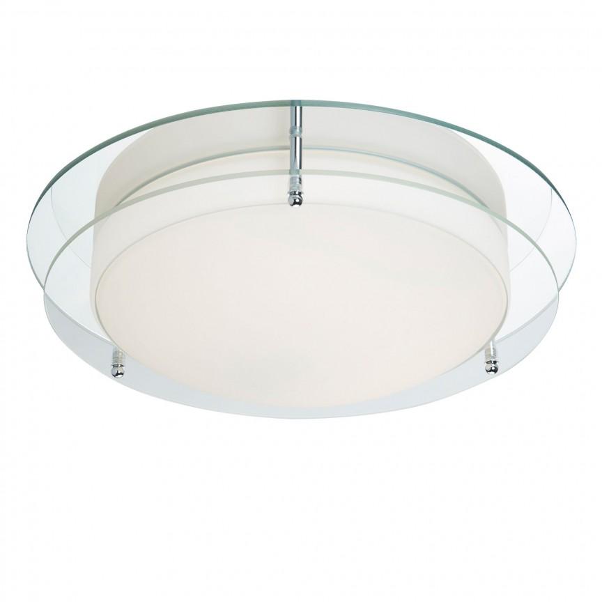Aplica LED de perete / tavan pentru baie IP44 Bathroom 38cm 8803-36CC SRT, Plafoniere cu protectie pentru baie, Corpuri de iluminat, lustre, aplice, veioze, lampadare, plafoniere. Mobilier si decoratiuni, oglinzi, scaune, fotolii. Oferte speciale iluminat interior si exterior. Livram in toata tara.  a