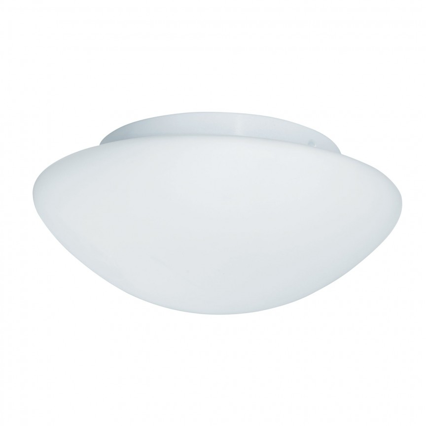 Aplica de perete / tavan pentru baie IP44 Discs 23cm 1910-23 SRT, Plafoniere cu protectie pentru baie, Corpuri de iluminat, lustre, aplice, veioze, lampadare, plafoniere. Mobilier si decoratiuni, oglinzi, scaune, fotolii. Oferte speciale iluminat interior si exterior. Livram in toata tara.  a
