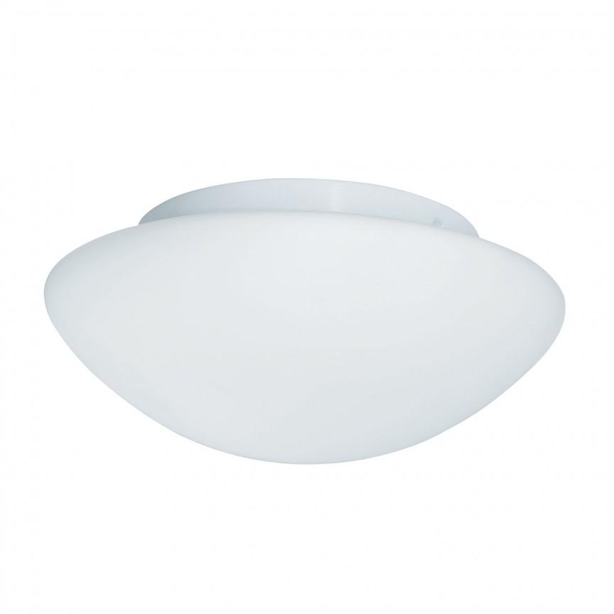 Aplica de perete / tavan pentru baie IP44 Discs 35cm 1910-35 SRT, Plafoniere cu protectie pentru baie, Corpuri de iluminat, lustre, aplice, veioze, lampadare, plafoniere. Mobilier si decoratiuni, oglinzi, scaune, fotolii. Oferte speciale iluminat interior si exterior. Livram in toata tara.  a