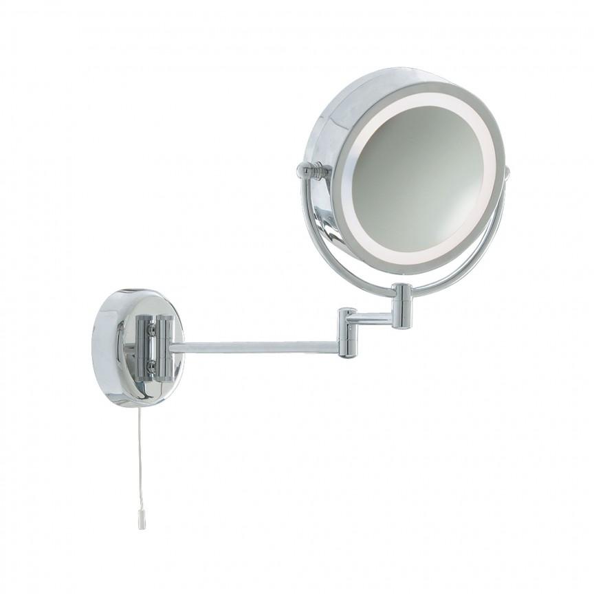Oglinda cu iluminat pentru baie IP44 directionabila Bathroom 11824 SRT, Oglinzi de baie cu iluminare LED, ⭐ modele moderne decorative potrivite pentru baia ta.✅ Design premium actual Top 2020!❤️Promotii❗ ➽ www.evalight.ro. Alege oferta la oglinda cu LED baie cu lumina incorporata de tip dulap rotunda, patrata si dreptunghiulara, ieftine si de calitate deosebita la cel mai bun pret. a