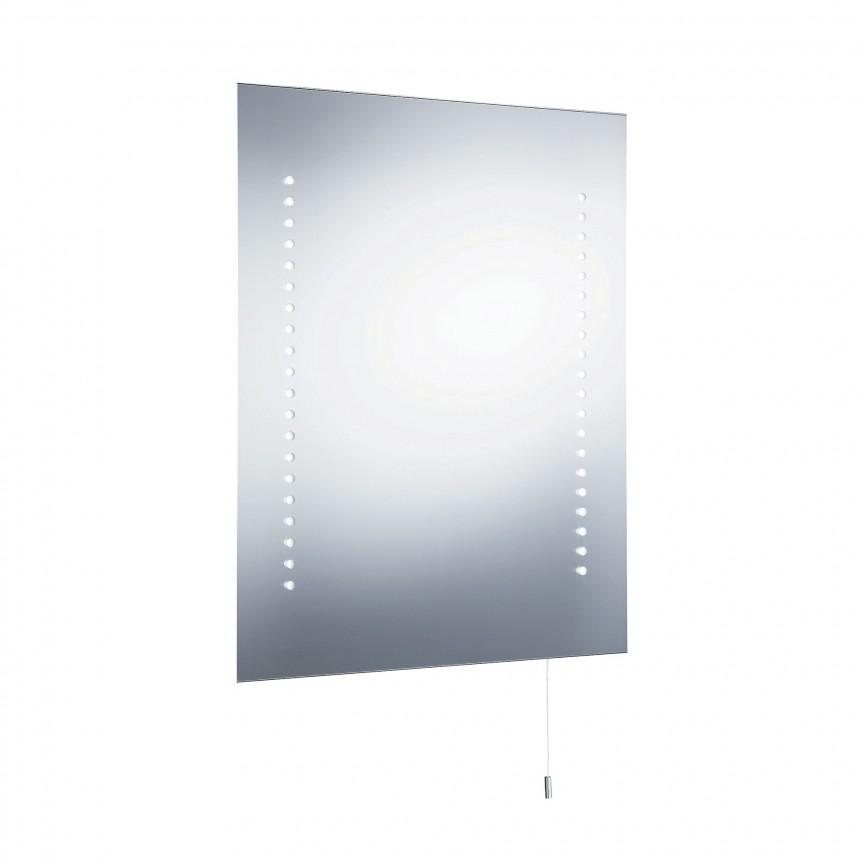 Oglinda cu iluminat LED pentru baie IP44 Bathroom 9305 SRT, Oglinzi de baie cu iluminare LED, ⭐ modele moderne decorative potrivite pentru baia ta.✅ Design premium actual Top 2020!❤️Promotii❗ ➽ www.evalight.ro. Alege oferta la oglinda cu LED baie cu lumina incorporata de tip dulap rotunda, patrata si dreptunghiulara, ieftine si de calitate deosebita la cel mai bun pret. a
