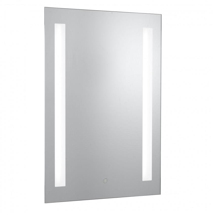 Oglinda cu iluminat LED pentru baie IP44 Bathroom 7450 SRT, Oglinzi de baie cu iluminare LED, ⭐ modele moderne decorative potrivite pentru baia ta.✅ Design premium actual Top 2020!❤️Promotii❗ ➽ www.evalight.ro. Alege oferta la oglinda cu LED baie cu lumina incorporata de tip dulap rotunda, patrata si dreptunghiulara, ieftine si de calitate deosebita la cel mai bun pret. a