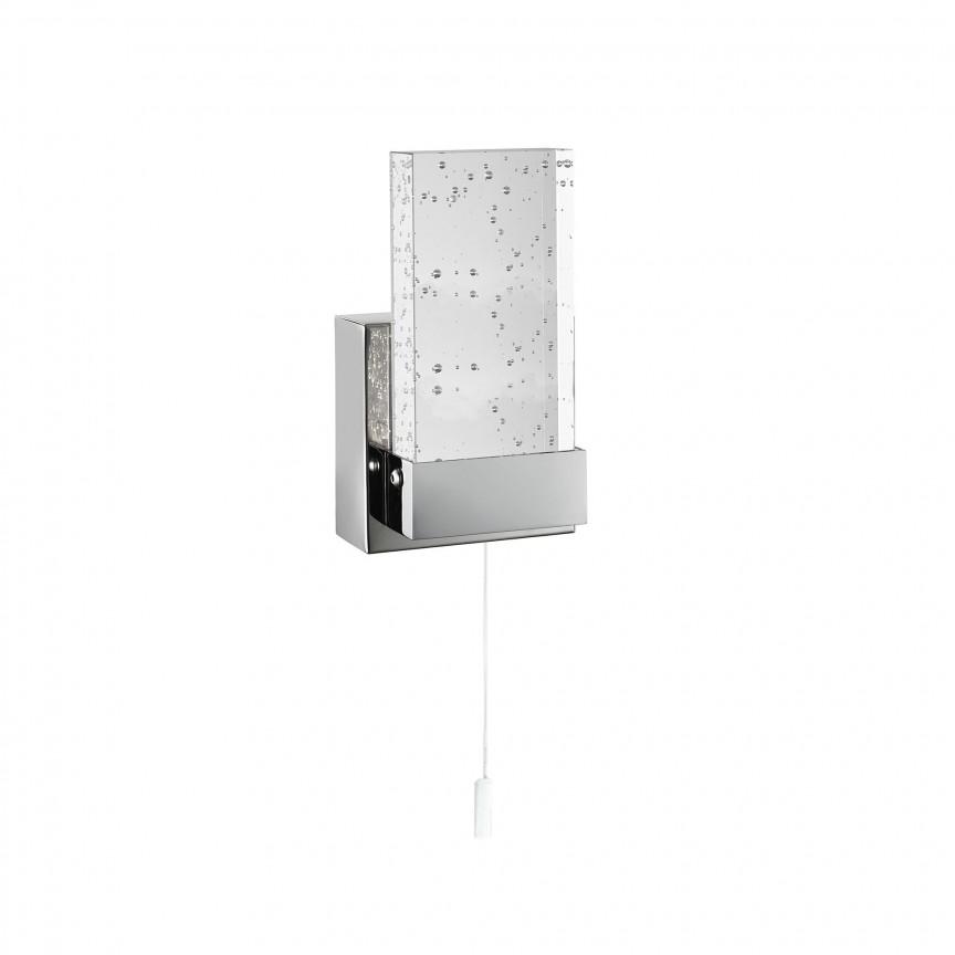 Aplica LED de perete pentru baie IP44 Bathroom 4262CC SRT, Aplice pentru baie, oglinda, tablou, Corpuri de iluminat, lustre, aplice, veioze, lampadare, plafoniere. Mobilier si decoratiuni, oglinzi, scaune, fotolii. Oferte speciale iluminat interior si exterior. Livram in toata tara.  a