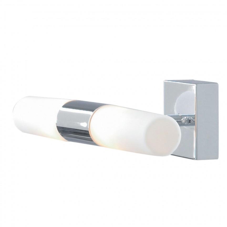 Aplica de perete pentru baie IP44 Lima 1609CC-LED SRT, Aplice pentru baie, oglinda, tablou, Corpuri de iluminat, lustre, aplice, veioze, lampadare, plafoniere. Mobilier si decoratiuni, oglinzi, scaune, fotolii. Oferte speciale iluminat interior si exterior. Livram in toata tara.  a