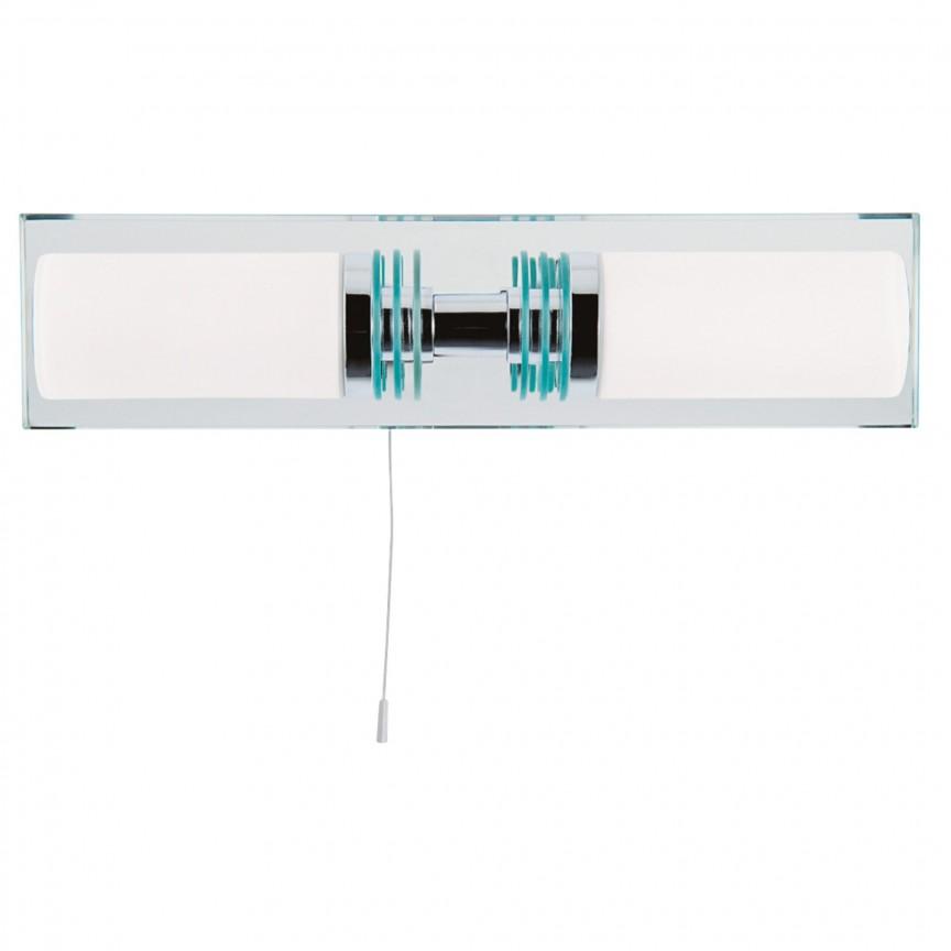 Aplica de perete pentru baie IP44 Lima 5612-2CC-LED SRT, Aplice pentru baie, oglinda, tablou, Corpuri de iluminat, lustre, aplice, veioze, lampadare, plafoniere. Mobilier si decoratiuni, oglinzi, scaune, fotolii. Oferte speciale iluminat interior si exterior. Livram in toata tara.  a