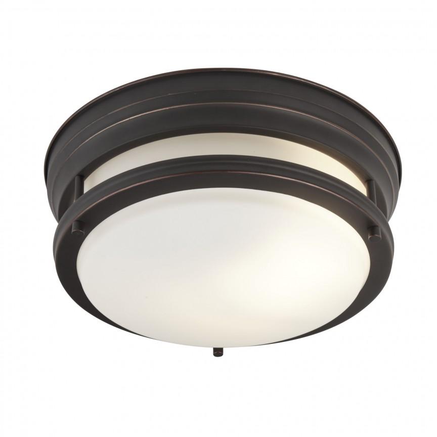 Plafoniera pentru baie IP44 Ø35cm Edinburgh maro 6142-2BR SRT, Plafoniere cu protectie pentru baie, LED⭐ modele moderne rezistente la apa potrivite în baie. ✅Design premium actual Top 2020! ❤️Promotii lampi❗ ➽ www.evalight.ro. Corpuri de iluminat pt interior de tip lustra cu montare pe tavan (plafon rigips sau perete), cu LED si protectie la umiditate, ieftine sau de lux, calitate deosebita la cel mai bun pret! a