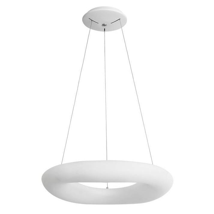 Lustra LED dimabila, design modern Cia, 60cm, Lustre LED, Pendule LED, Corpuri de iluminat, lustre, aplice, veioze, lampadare, plafoniere. Mobilier si decoratiuni, oglinzi, scaune, fotolii. Oferte speciale iluminat interior si exterior. Livram in toata tara.  a