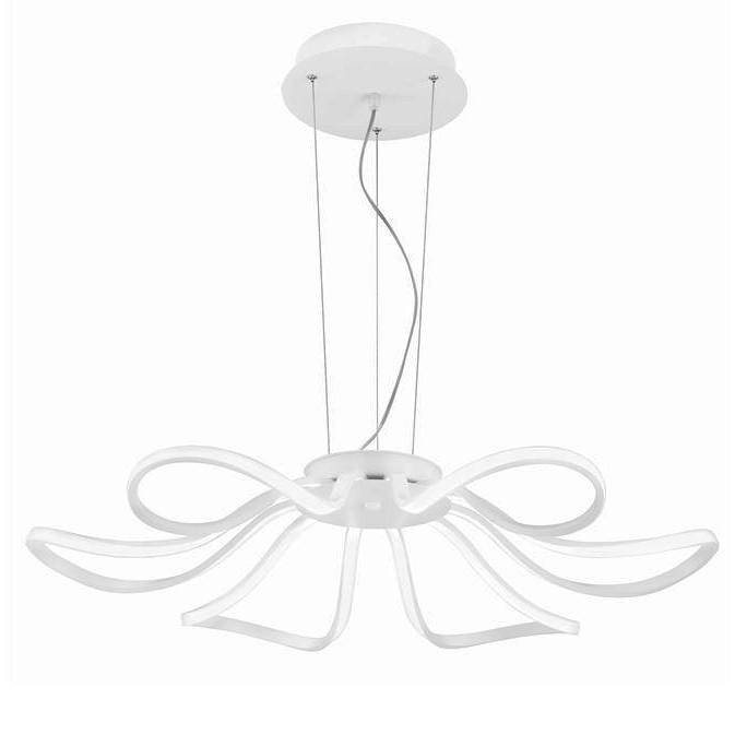 Lustra LED suspendata design modern Lana, Lustre LED, Pendule LED, Corpuri de iluminat, lustre, aplice, veioze, lampadare, plafoniere. Mobilier si decoratiuni, oglinzi, scaune, fotolii. Oferte speciale iluminat interior si exterior. Livram in toata tara.  a