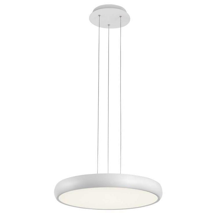 Lustra LED suspendata design modern Gap, alb, Lustre LED, Pendule LED, Corpuri de iluminat, lustre, aplice, veioze, lampadare, plafoniere. Mobilier si decoratiuni, oglinzi, scaune, fotolii. Oferte speciale iluminat interior si exterior. Livram in toata tara.  a