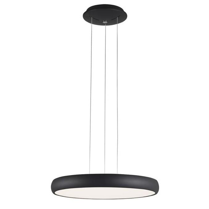 Lustra LED suspendata design modern Gap, negru, Lustre LED, Pendule LED, Corpuri de iluminat, lustre, aplice, veioze, lampadare, plafoniere. Mobilier si decoratiuni, oglinzi, scaune, fotolii. Oferte speciale iluminat interior si exterior. Livram in toata tara.  a