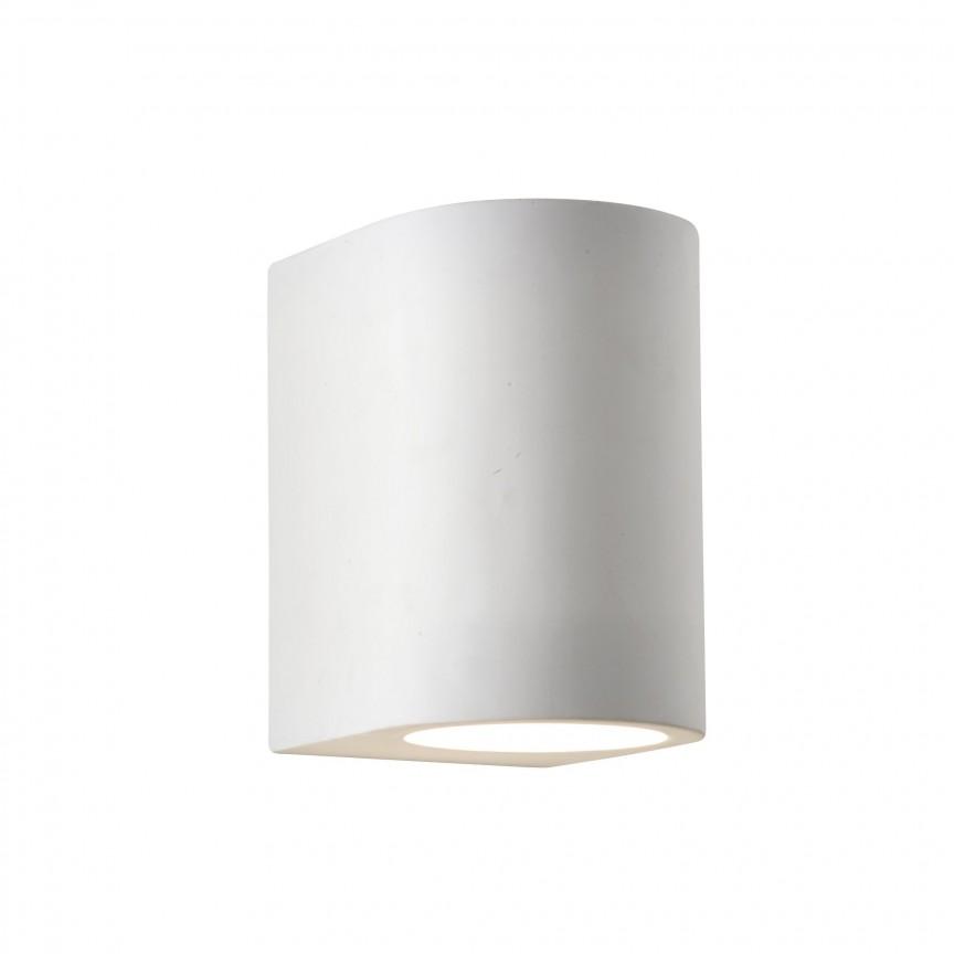 Aplica perete iluminat ambiental Gypsum 8436 SRT, Aplice de perete moderne, Corpuri de iluminat, lustre, aplice, veioze, lampadare, plafoniere. Mobilier si decoratiuni, oglinzi, scaune, fotolii. Oferte speciale iluminat interior si exterior. Livram in toata tara.  a