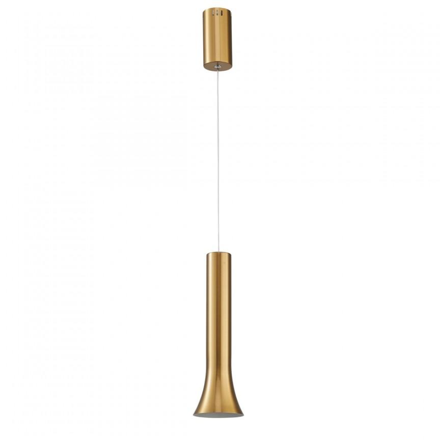 Pendul LED design modern Stuttgart bronz 631017901 MW, ILUMINAT INTERIOR LED , Corpuri de iluminat, lustre, aplice, veioze, lampadare, plafoniere. Mobilier si decoratiuni, oglinzi, scaune, fotolii. Oferte speciale iluminat interior si exterior. Livram in toata tara.  a