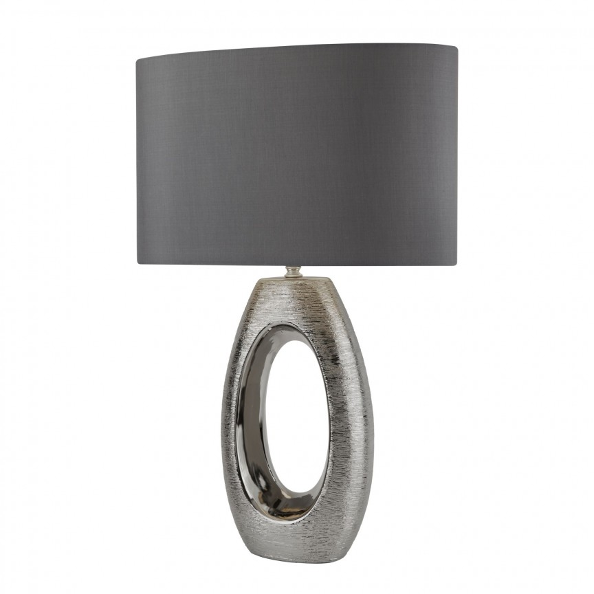 Veioza / Lampa de masa decorativa design elegant Artisan crom EU1213CC SRT, Magazin, Corpuri de iluminat, lustre, aplice, veioze, lampadare, plafoniere. Mobilier si decoratiuni, oglinzi, scaune, fotolii. Oferte speciale iluminat interior si exterior. Livram in toata tara.  a