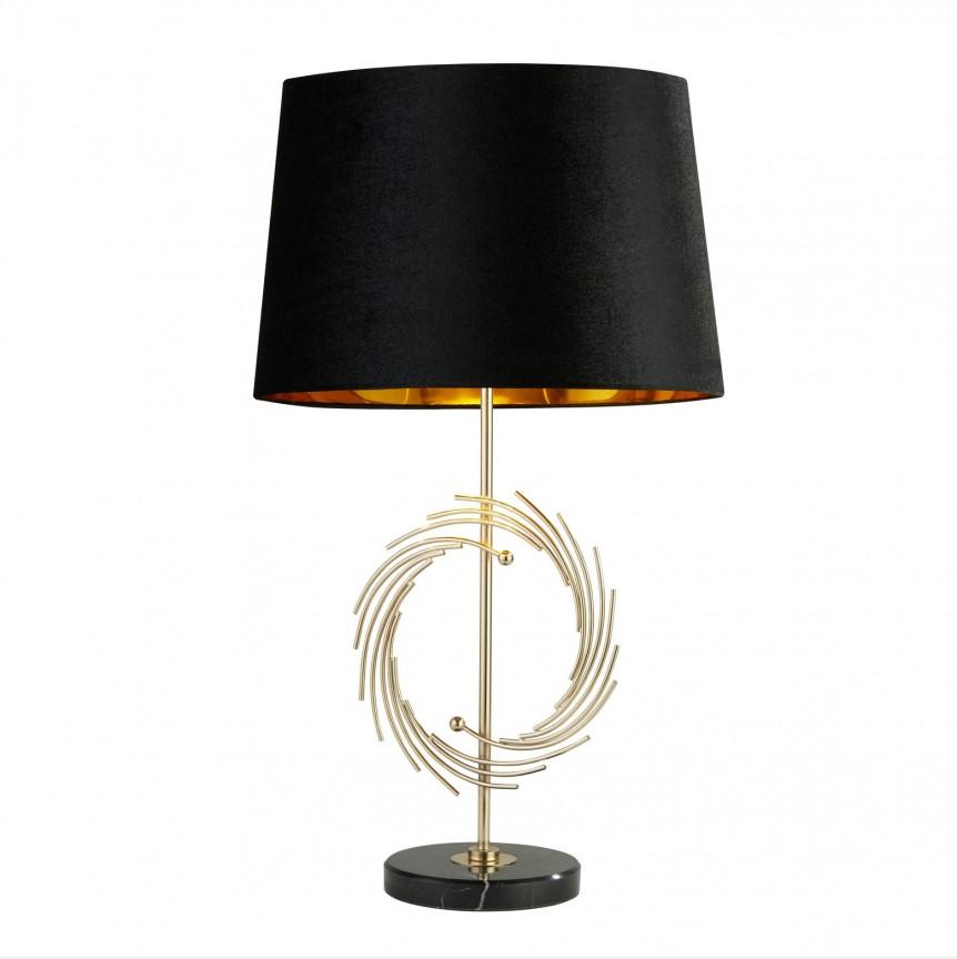 Veioza / Lampa de masa decorativa design elegant Roman EU5310GO SRT, Veioze, Lampi de masa, Corpuri de iluminat, lustre, aplice, veioze, lampadare, plafoniere. Mobilier si decoratiuni, oglinzi, scaune, fotolii. Oferte speciale iluminat interior si exterior. Livram in toata tara.  a