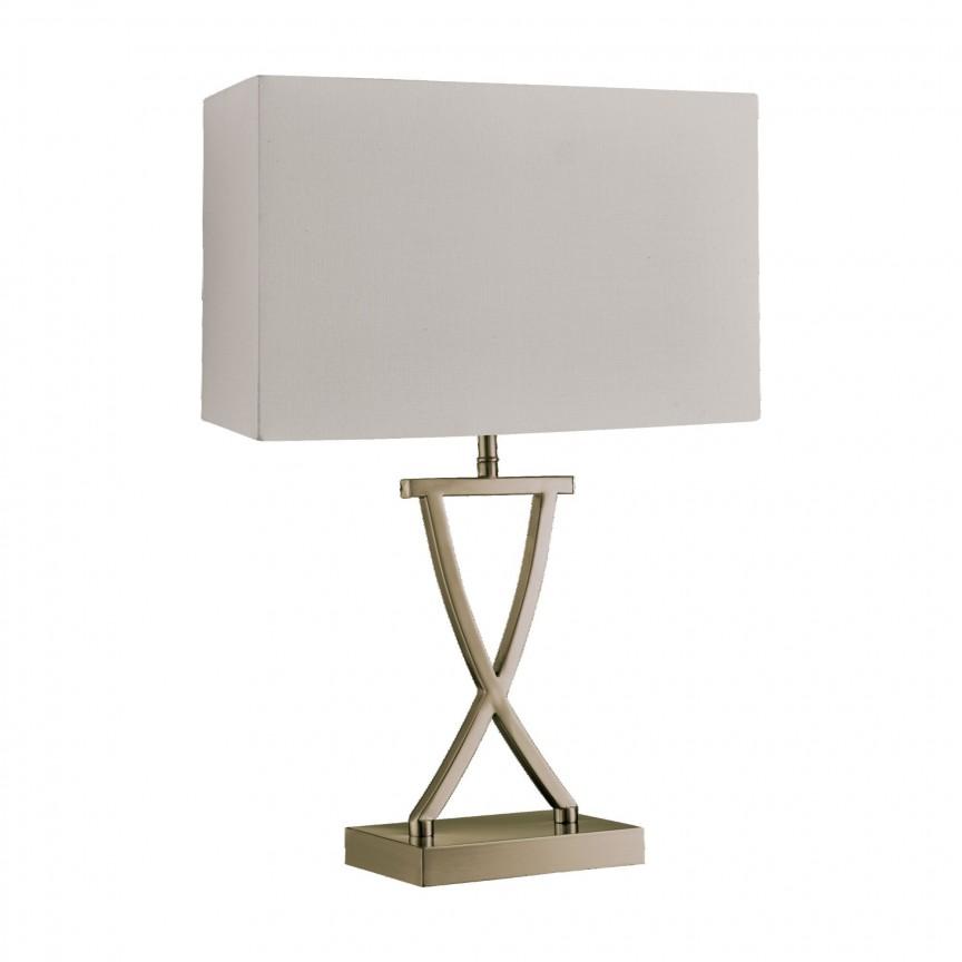 Veioza / Lampa de masa decorativa design modern CLUB EU7923AB SRT, Veioze, Lampi de masa, Corpuri de iluminat, lustre, aplice, veioze, lampadare, plafoniere. Mobilier si decoratiuni, oglinzi, scaune, fotolii. Oferte speciale iluminat interior si exterior. Livram in toata tara.  a