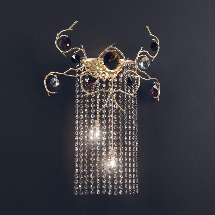 Aplica design LUX realizata manual, stil organic Diamond, Aplice de perete moderne, Corpuri de iluminat, lustre, aplice, veioze, lampadare, plafoniere. Mobilier si decoratiuni, oglinzi, scaune, fotolii. Oferte speciale iluminat interior si exterior. Livram in toata tara.  a