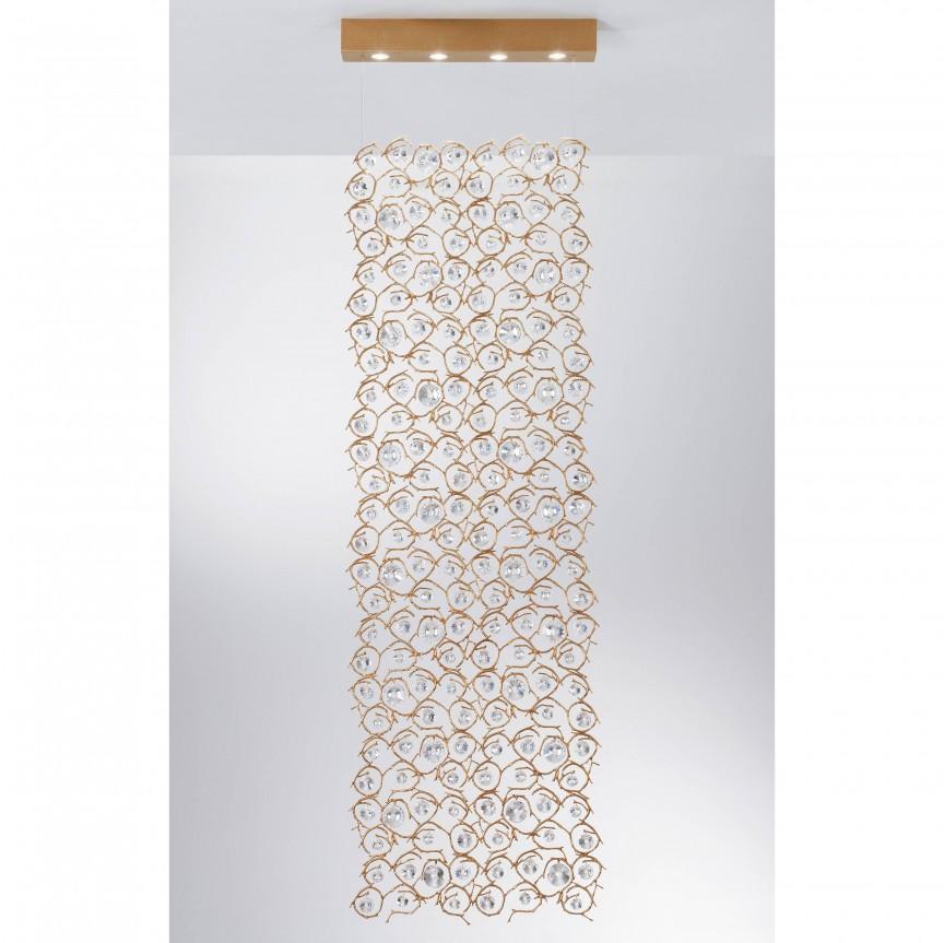 Lustra XL design LUX realizata manual, stil organic Diamond, Candelabre, Pendule clasice, Corpuri de iluminat, lustre, aplice, veioze, lampadare, plafoniere. Mobilier si decoratiuni, oglinzi, scaune, fotolii. Oferte speciale iluminat interior si exterior. Livram in toata tara.  a