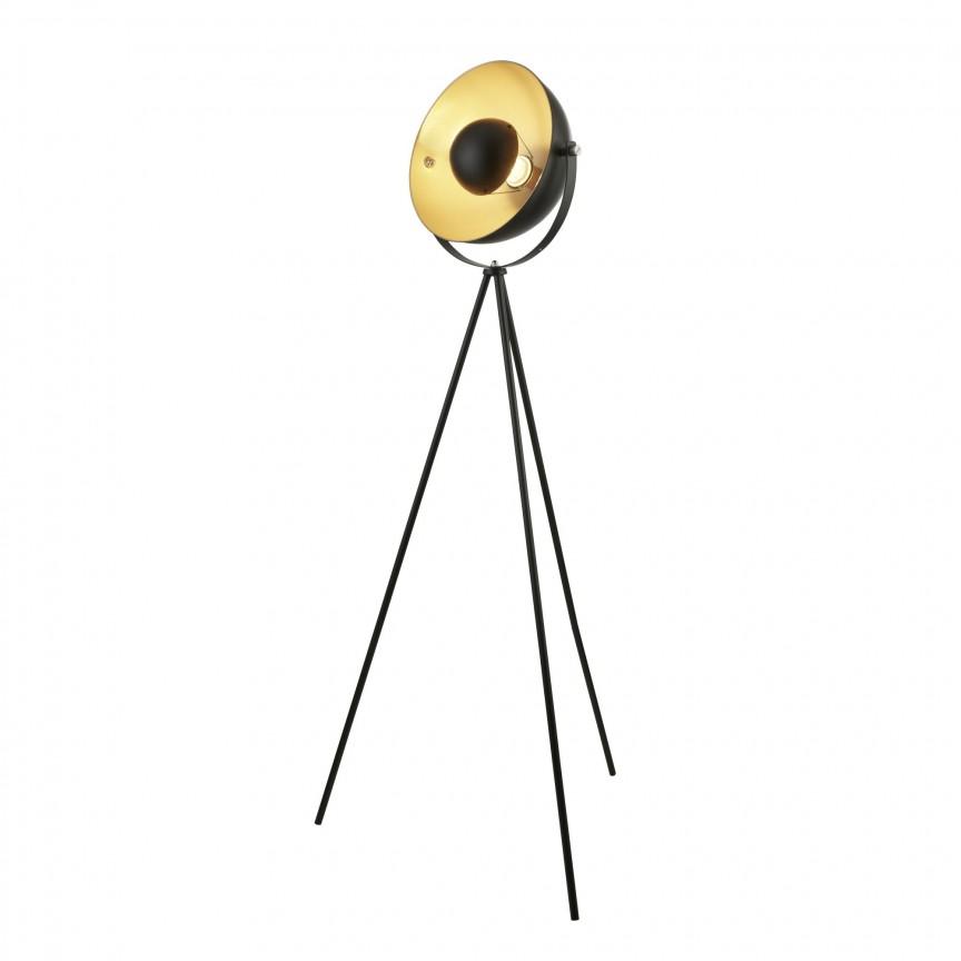 Lampadar / Lampa de podea design vintage Blink EU8022BK SRT, NOU ! Lustre VINTAGE, RETRO, INDUSTRIA Style, Corpuri de iluminat, lustre, aplice, veioze, lampadare, plafoniere. Mobilier si decoratiuni, oglinzi, scaune, fotolii. Oferte speciale iluminat interior si exterior. Livram in toata tara.  a