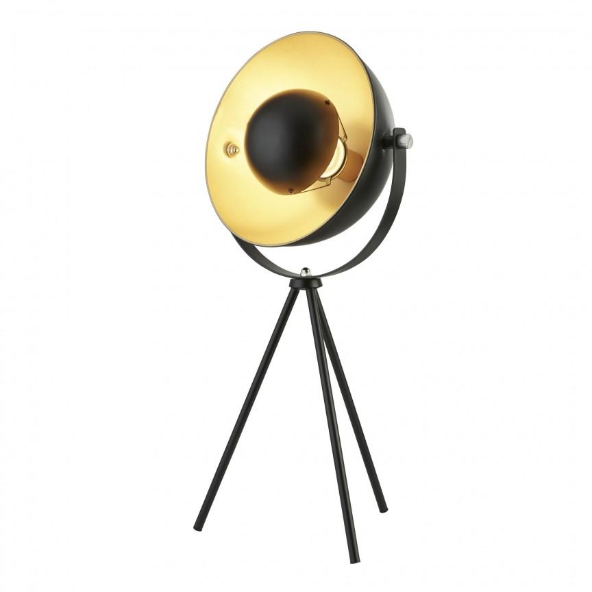 Veioza / Lampa de masa design vintage Blink EU8021BK SRT, NOU ! Lustre VINTAGE, RETRO, INDUSTRIA Style, Corpuri de iluminat, lustre, aplice, veioze, lampadare, plafoniere. Mobilier si decoratiuni, oglinzi, scaune, fotolii. Oferte speciale iluminat interior si exterior. Livram in toata tara.  a