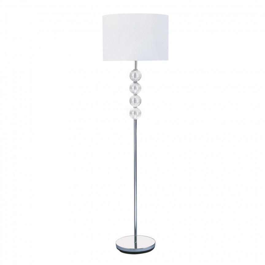 Lampadar / Lampa de podea moderna Floor Lamp EU8194CC SRT, CORPURI DE ILUMINAT INTERIOR MODERN, Corpuri de iluminat, lustre, aplice, veioze, lampadare, plafoniere. Mobilier si decoratiuni, oglinzi, scaune, fotolii. Oferte speciale iluminat interior si exterior. Livram in toata tara.  a