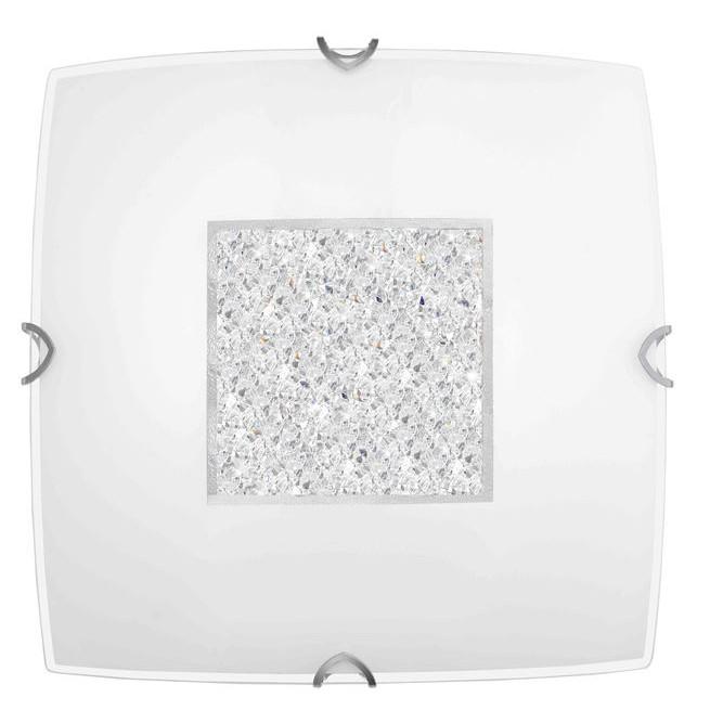 Aplica de perete sau tavan design modern Thelta, 40x40cm, CORPURI DE ILUMINAT INTERIOR MODERN, Corpuri de iluminat, lustre, aplice, veioze, lampadare, plafoniere. Mobilier si decoratiuni, oglinzi, scaune, fotolii. Oferte speciale iluminat interior si exterior. Livram in toata tara.  a