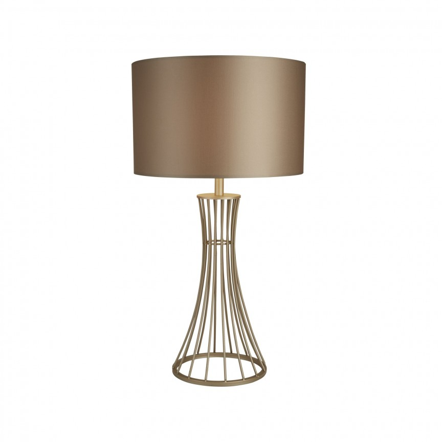 Veioza / Lampa de masa moderna design decorativ Wheatsheaf EU2022CP SRT, CORPURI DE ILUMINAT INTERIOR MODERN, Corpuri de iluminat, lustre, aplice, veioze, lampadare, plafoniere. Mobilier si decoratiuni, oglinzi, scaune, fotolii. Oferte speciale iluminat interior si exterior. Livram in toata tara.  a
