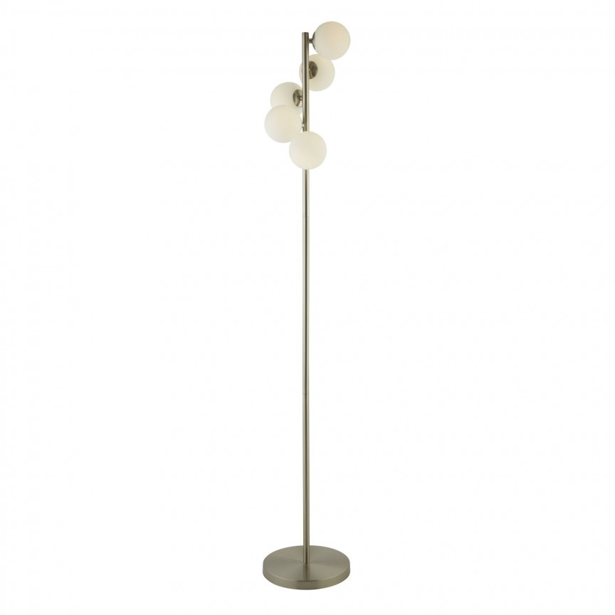 Lampadar / Lampa de podea design modern Trio EU0815-5SS SRT, Cele mai noi produse 2020 a