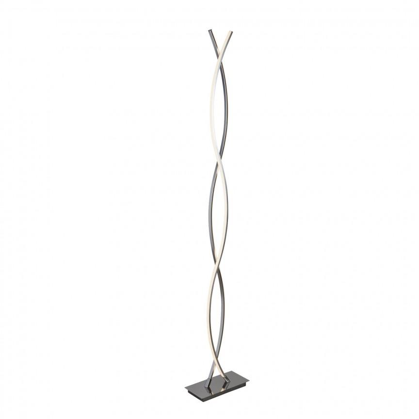 Lampadar LED / Lampa de podea moderna Platt EU5679CC SRT, Cele mai noi produse 2020 a