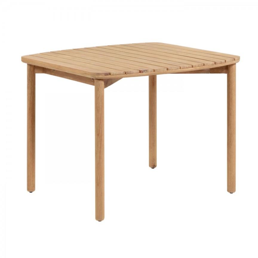 Masa din lemn Sheryl 90x90cm CC5081M46 JG, Mobilier terasa si gradina, Corpuri de iluminat, lustre, aplice, veioze, lampadare, plafoniere. Mobilier si decoratiuni, oglinzi, scaune, fotolii. Oferte speciale iluminat interior si exterior. Livram in toata tara.  a