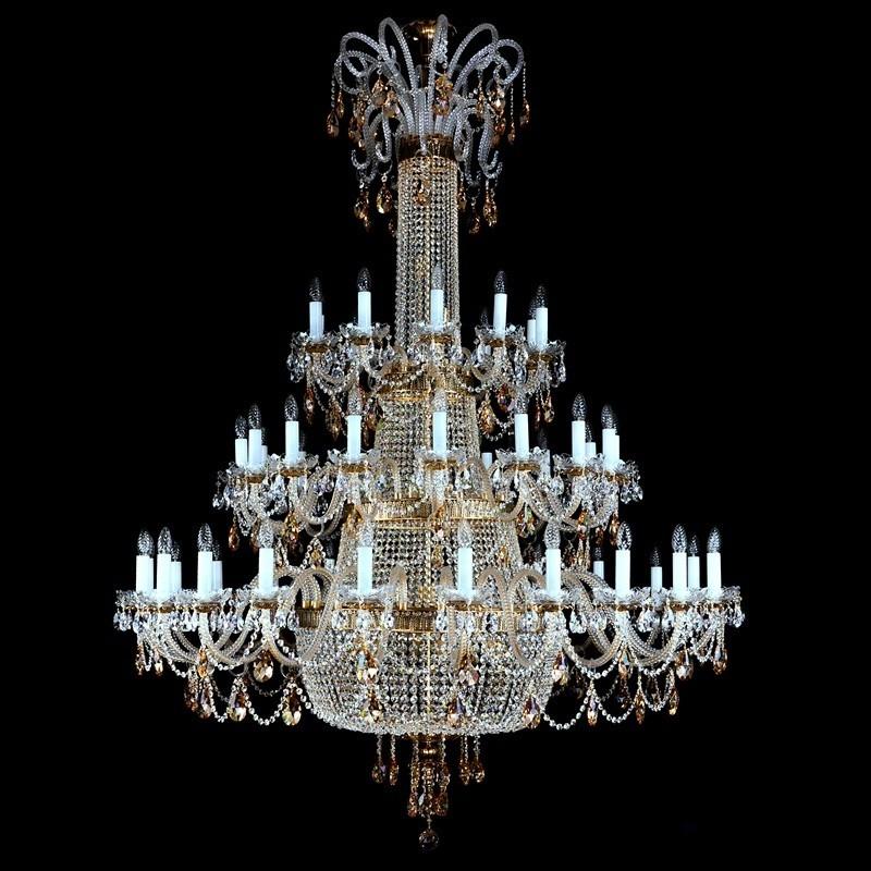 Candelabru XXXL design LUX Cristal Exclusiv PROSERPINA 48 CE, Lustre Imperial Cristal Bohemia,  a