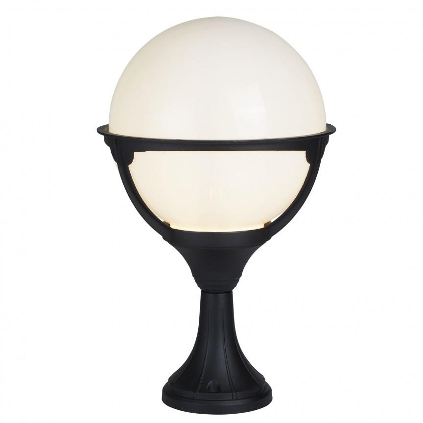 Mini Stalp iluminat exterior IP44 Orb 8740 SRT, Stalpi de iluminat exterior mici si medii , Corpuri de iluminat, lustre, aplice, veioze, lampadare, plafoniere. Mobilier si decoratiuni, oglinzi, scaune, fotolii. Oferte speciale iluminat interior si exterior. Livram in toata tara.  a
