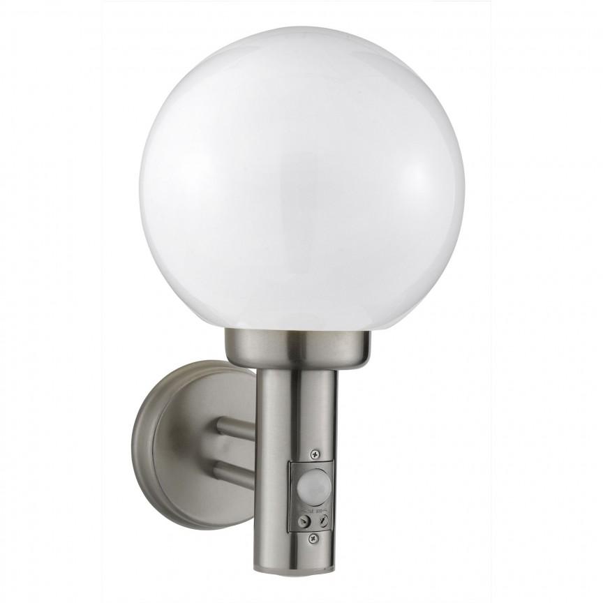 Aplica perete exterior cu senzor de miscare Orb 085 SRT, Iluminat cu senzor de miscare,  a