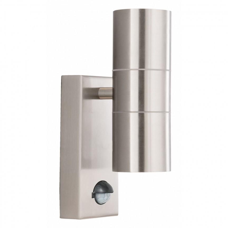 Aplica perete exterior cu senzor de miscare Up and Down, Iluminat cu senzor de miscare,  a
