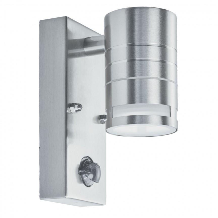 Aplica exterior cu senzor de miscare Up and Down 1318-1-LED SRT, Iluminat cu senzor de miscare,  a